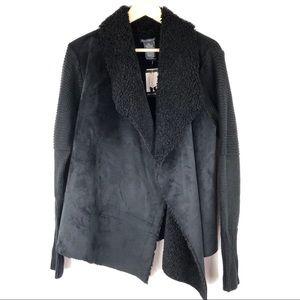 Chelsea & Theodore Sherpa Jacket Plus XXL 2X